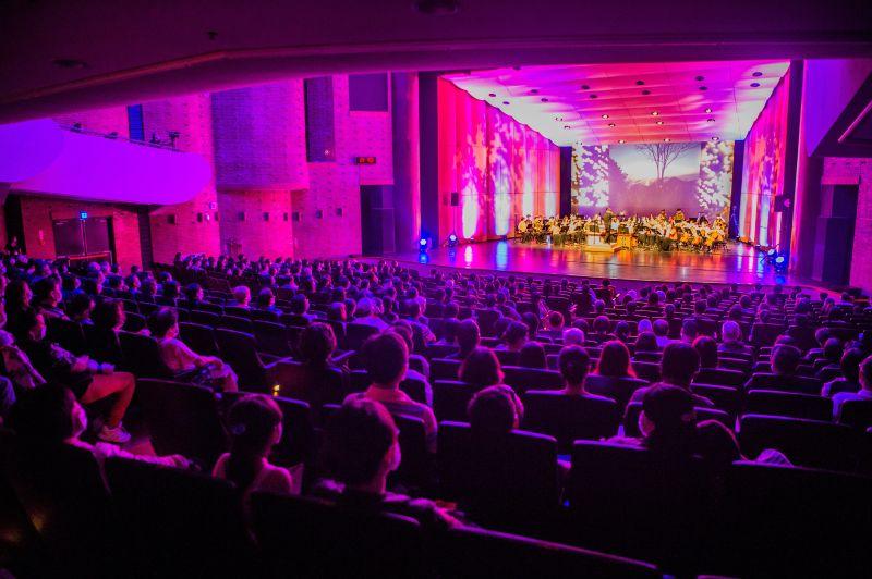 ▲神奇樂坊嘉義地區首次的樂器劇場相當成功,獲得現場觀眾一致好評。(圖/神奇樂坊提供)