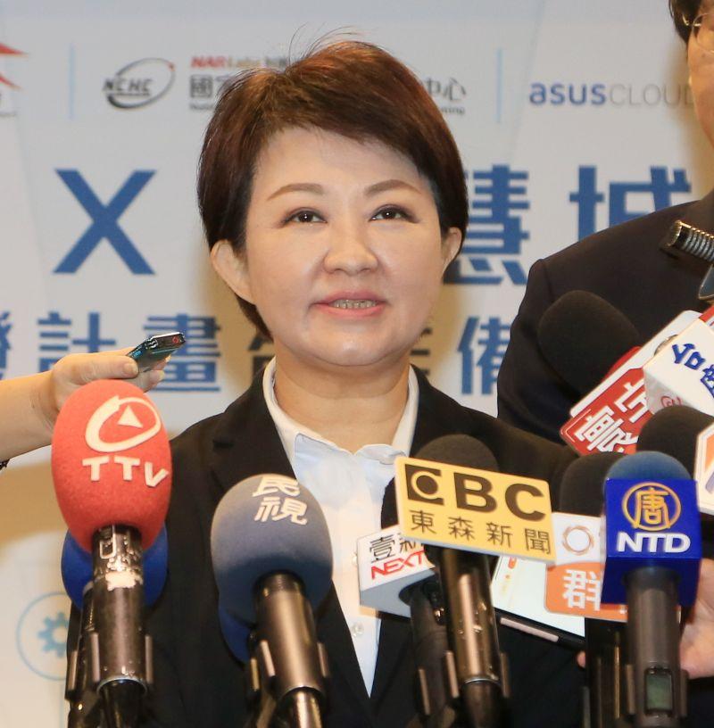 「全球市長聯盟」修正錯誤標示 盧秀燕:下不為例