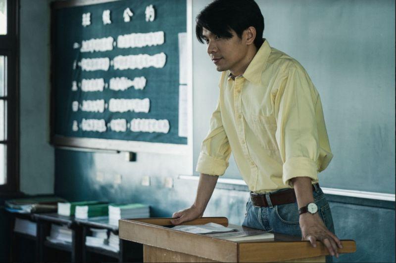 ▲新科視帝姚淳耀在《返校》也演出一角。(圖