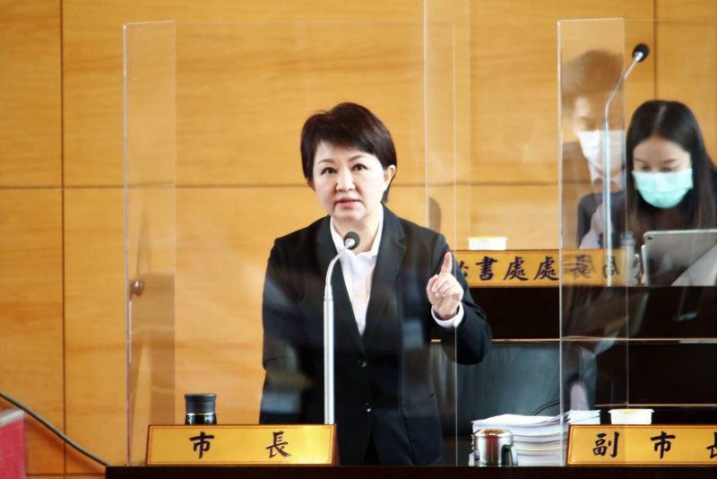 ▲針對進口肉品必須瘦肉精零檢出,市長盧秀燕表示,她始終站在人民這邊,她的態度始終如一(圖/柳榮俊攝2020.9.28)