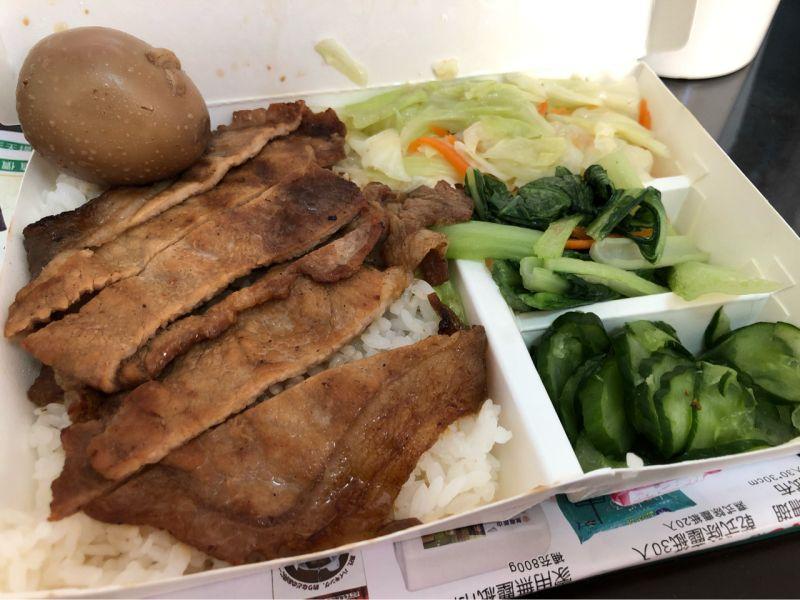 ▲近日就有一位網友揭露了「3菜1肉1蛋」的便當。(圖/翻攝自PTT)