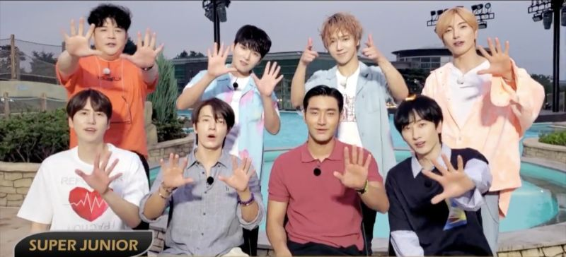 ▲SJ蟬聯KKBOX「韓語專輯週榜」150周冠軍紀錄,錄影跟粉絲道謝。(圖/avex taiwan)