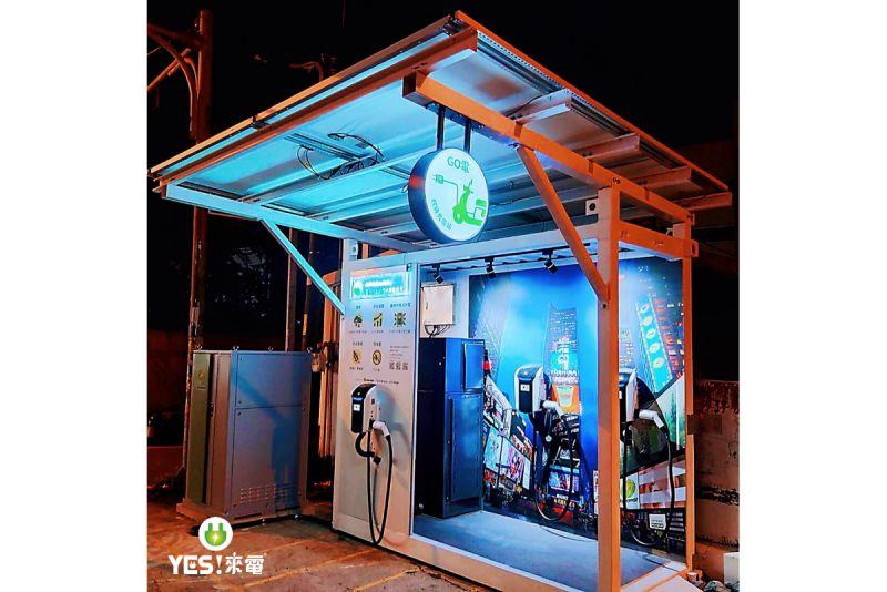 廣編/強強聯手 電動二輪充電站加入醇氫燃料能源