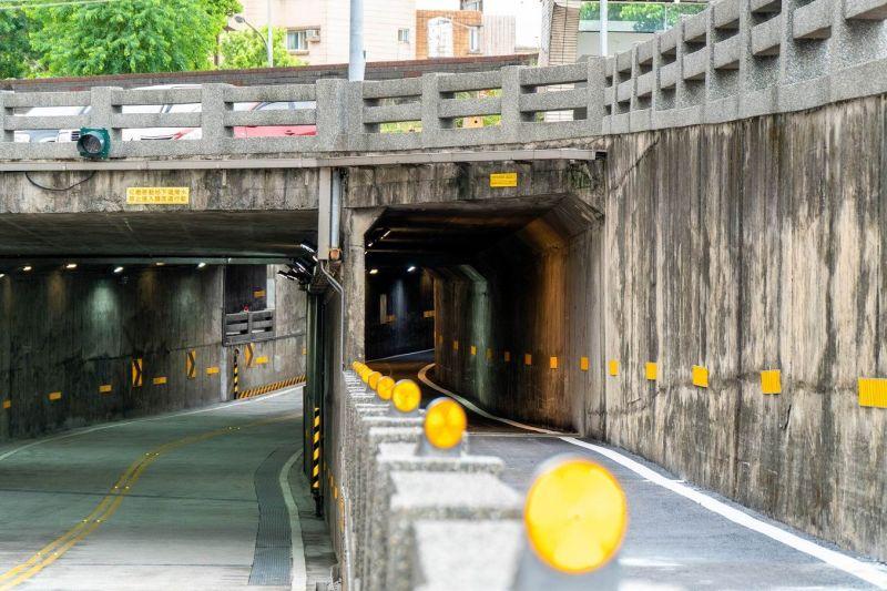 提前完工減少不便 羅東倉前路地下道開放通行了