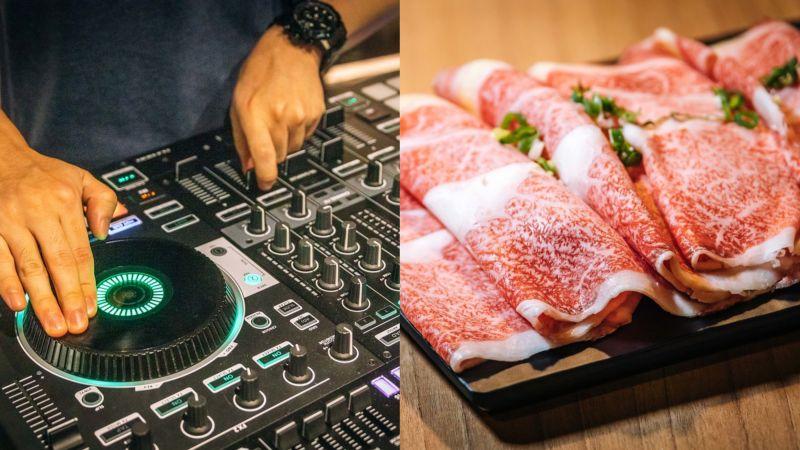 ▲板橋最強燒肉吃到飽!DJ放歌搭日本和牛、生啤酒暢飲超High。(圖/寒武紀)