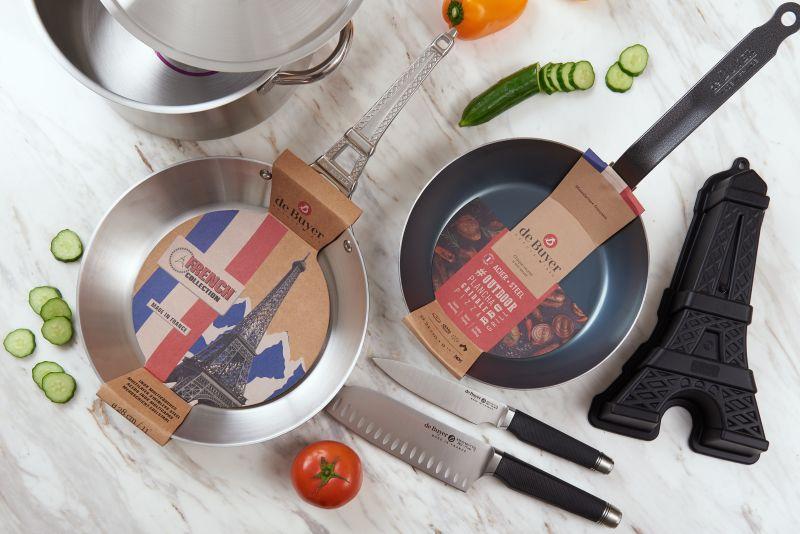 ▲來自法國的畢耶De Buyer廚具(圖/資料照片)