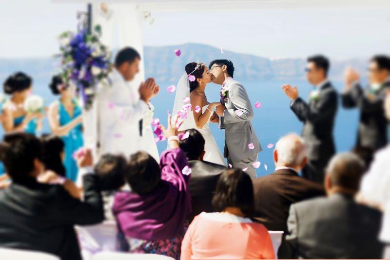 婚禮示意圖