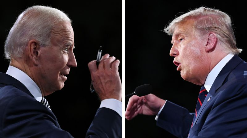 美總統大選首場辯論 拜登批川普表現丟國家的臉