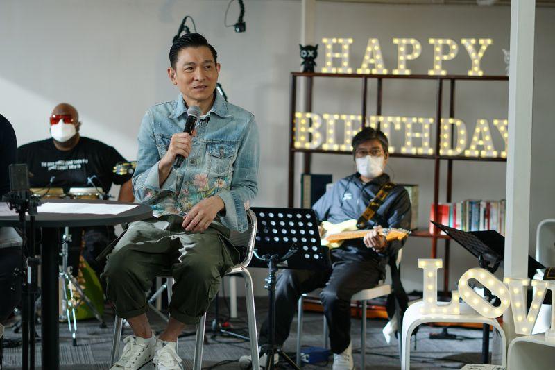 ▲華仔線上舉辦慶生會,與粉絲隔空歡度59歲生日。(圖/台灣映藝)