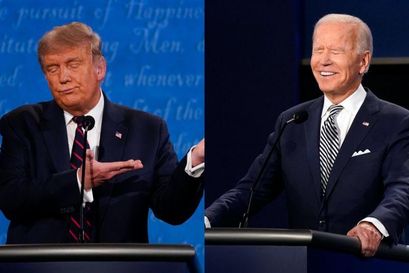 CNN美大選首場辯論民調 6成支持拜登、不到3成挺川普