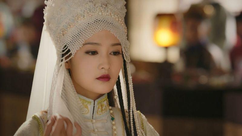 ▲李沁在《如懿傳》飾演香妃。(圖