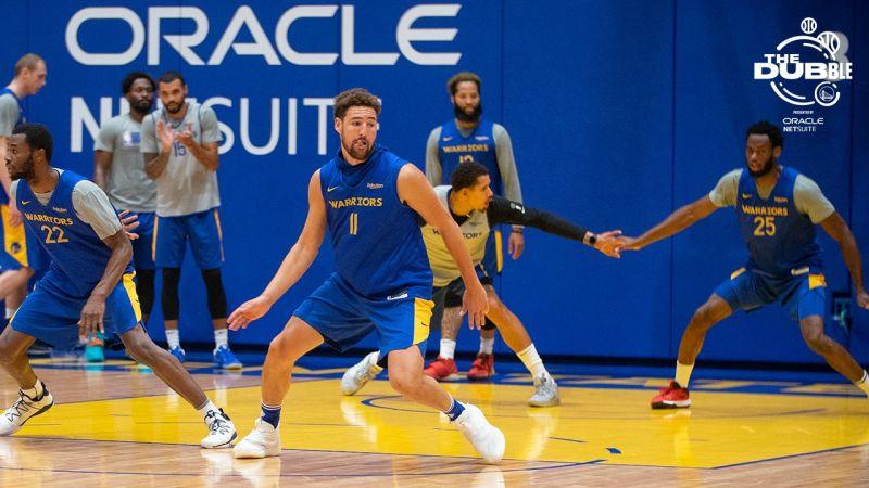 NBA/K湯在訓練營展現好狀態 柯爾兒子客串裁判