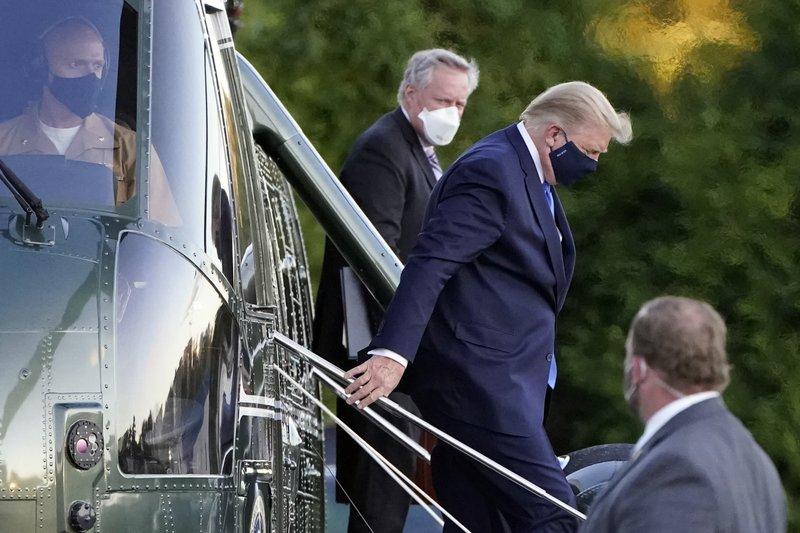 川普已接受瑞德西韋治療 白宮:總統疲憊但情況無惡化