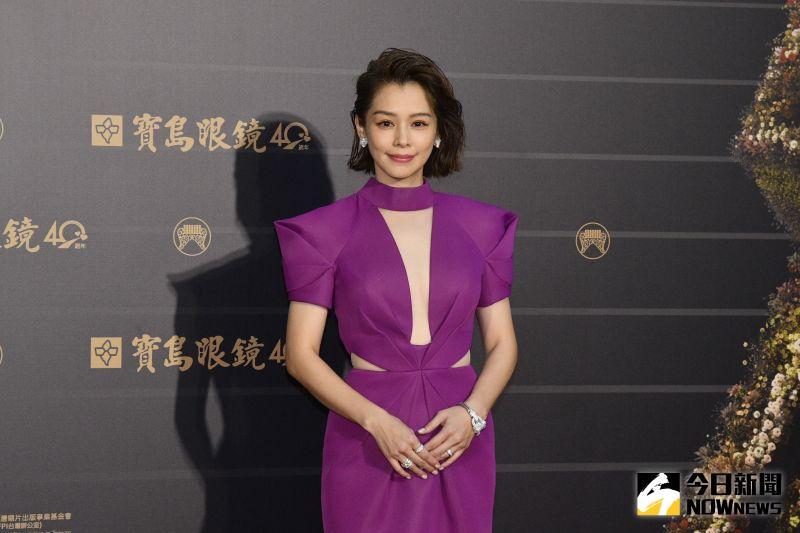 徐若瑄辣走紅毯。(圖/NOWnews影像中心)