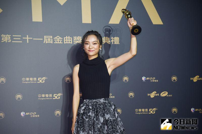 ▲余佩真勇奪「最佳作曲人獎」。(圖/NOWnews影像中心)