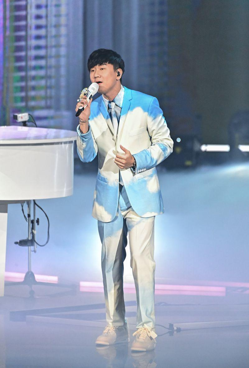 ▲林俊傑演唱新歌《交換餘生》。(圖/台視提供)