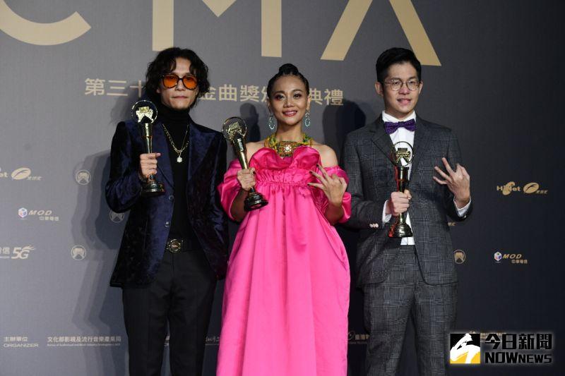 金曲31/阿爆奪「年度專輯」 抱3大獎成最大贏家