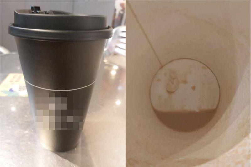 暫離咖啡放桌上!她喝完看「杯底」吐了 網氣炸:太噁心