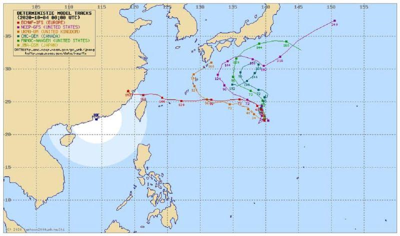 昌鴻颱風走向難料!未來「2可能路徑」曝 影響國慶天氣