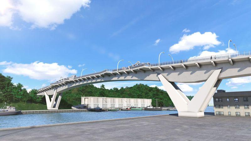 南方澳跨港<b>大橋</b>斥資逾8億重建 估2022年完工
