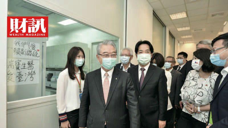 ▲副總統賴清德相當關注台灣醫療產業,9月初曾參觀瑞寶生醫。(圖/財訊雙週刊)