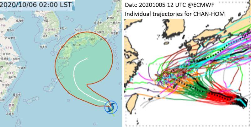 昌鴻颱風預測路線恐增強迴轉!國慶連假天氣關鍵曝光