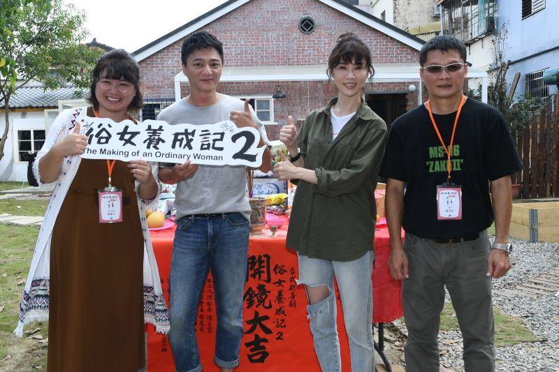 ▲導演嚴藝文(左)、陳長綸(右)執導樂《俗女2》。(圖