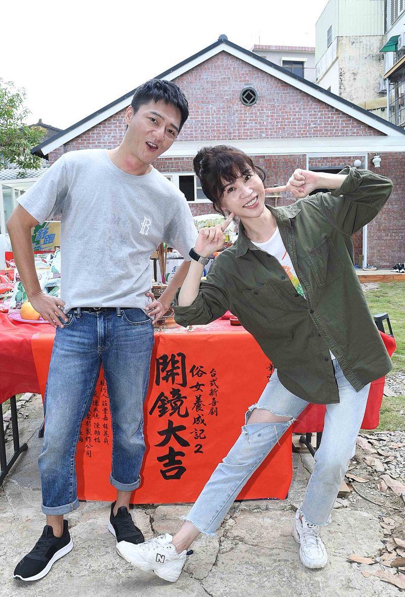 ▲謝盈萱表示接演第二季壓力很大。(圖