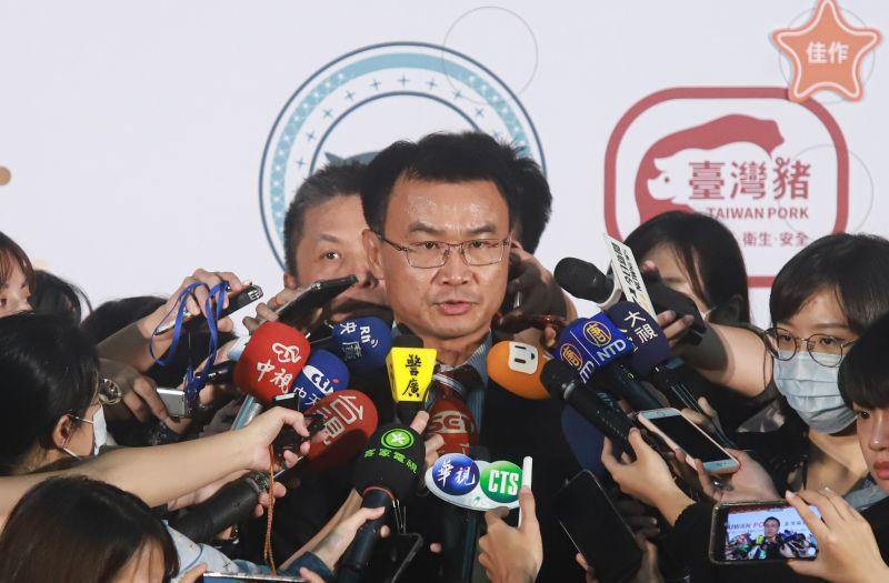 ▲農委會主委陳吉仲今(6)日表示,針對特定媒體不實操作,若經查證確無違法,未來他絕對會依法處理。(圖/記者葉政勳攝)