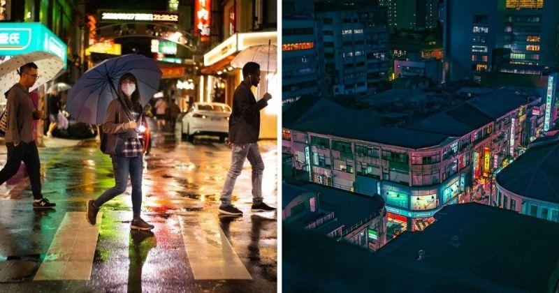 <b>老外</b>瘋傳台北夜景!絕美畫面驚艷網友
