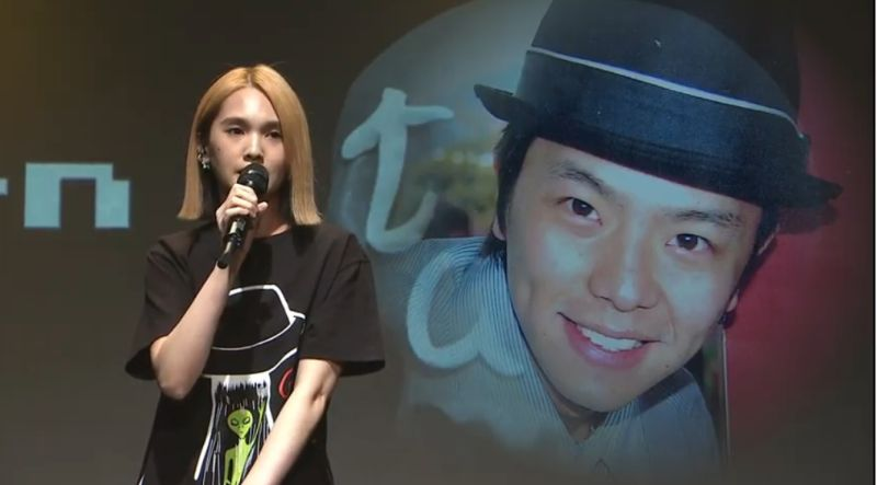 ▲楊丞琳提及2年前的同一天,小鬼擔任她演唱會的嘉賓。(圖/黃鴻升Youtube)