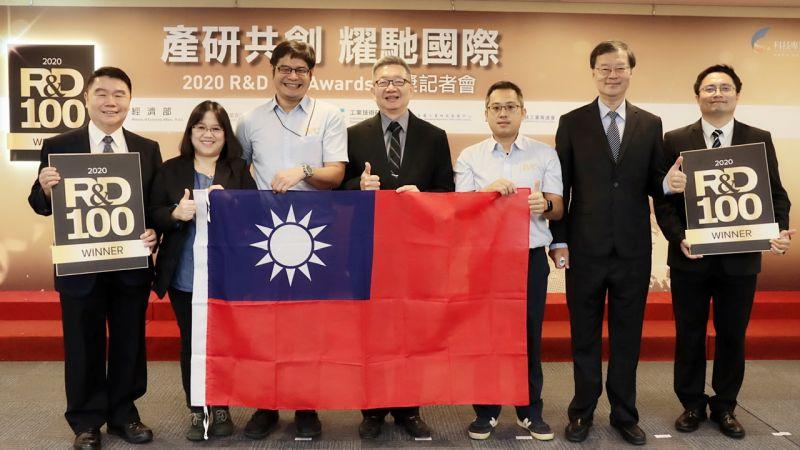 台灣產業科技國際發光 金屬中心獲百大科技<b>研發</b>二項大獎