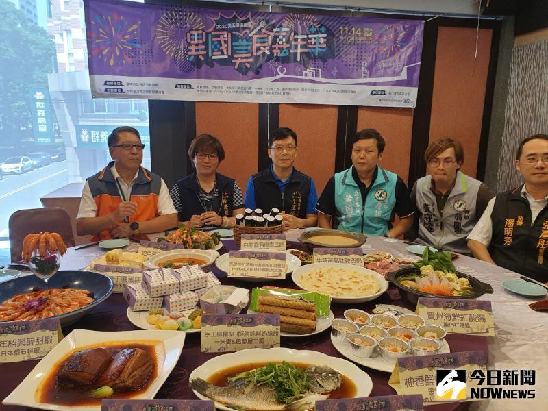台中異國美食嘉年華熱鬧辦桌 11道甜品<b>佳餚</b>一次品嚐