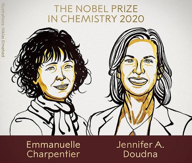 諾貝爾化學獎揭曉 美法2女科學家研究「基因剪刀」獲獎