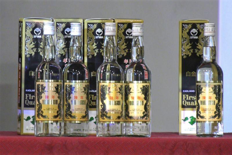 白金版黑金剛問世 金酒公司13日進行公開抽籤