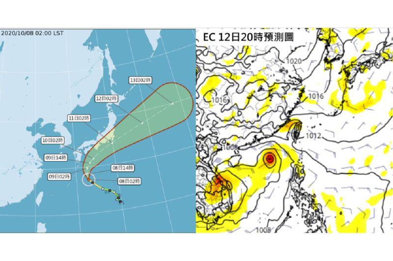 昌鴻颱風大迴轉!吳德榮:下周又有熱帶擾動 東側水氣增