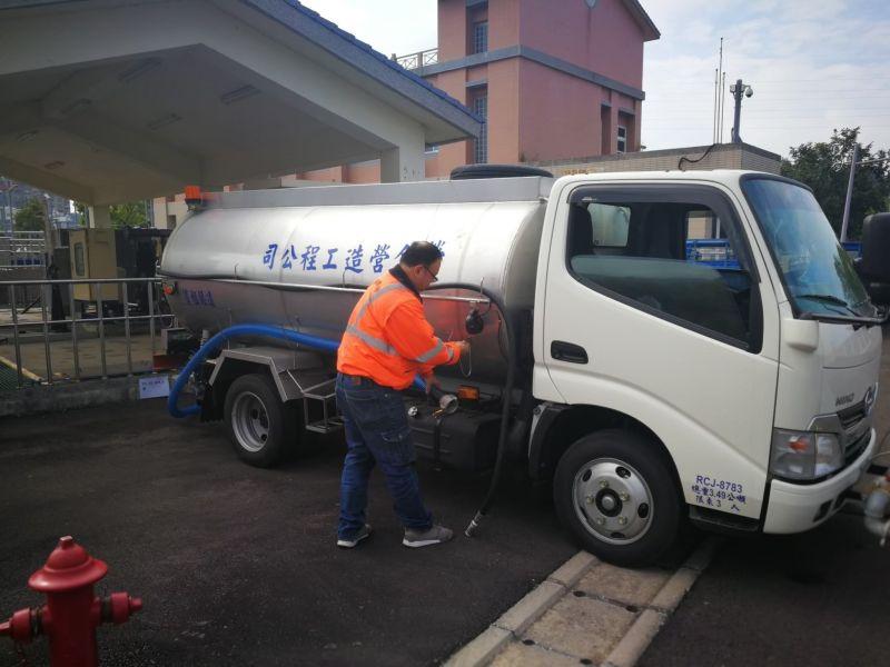 水務局提供放流水供民眾使用