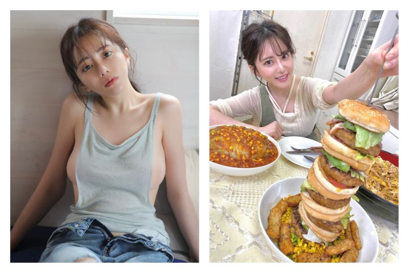 <b>大胃王</b>正妹食量驚人兼具逆天好身材 網友全暴動:我養妳