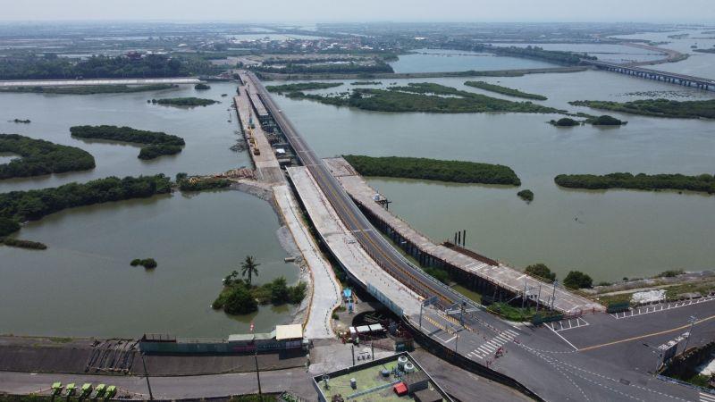 ▲台17線五王大橋改善工程。(圖/公路總局提供)