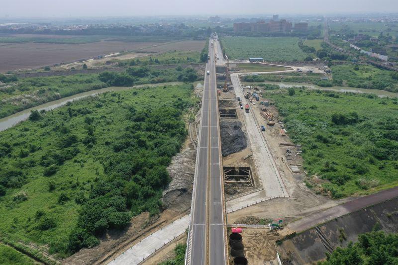 ▲台1線急水溪橋橋梁改建工程。(圖/公路總局提供)