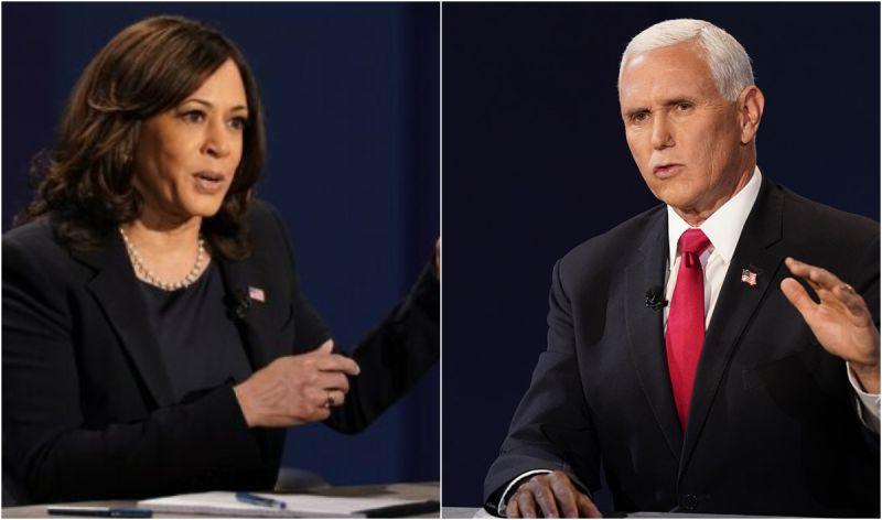 ▲CNN針對美國副總統辯論會進行民意調查,受訪者逾6成同意2人能夠在必要時刻接下總統職務。(圖/美聯社/達志影像)