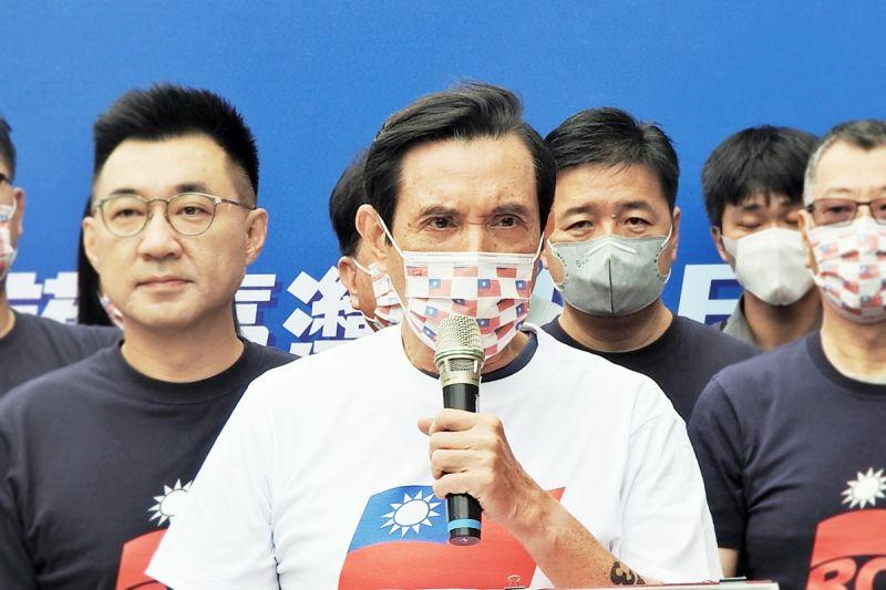 馬英九辦公室痛擊民進黨發言系統「哪來的恥度?」
