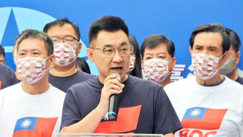 江啟臣:執政黨慶祝國慶應思考認同中華民國 不是切割