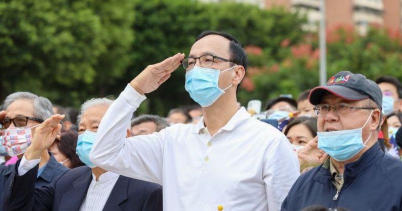 朱立倫:國慶盼蔡英文「表裡如一」愛中華民國