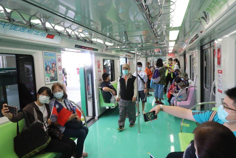 中捷市政府站國慶首「開箱」  吸引上萬人次參觀