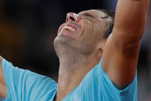 ▲Rafael Nadal拿下法網冠軍。(圖/美聯社/達志影像)