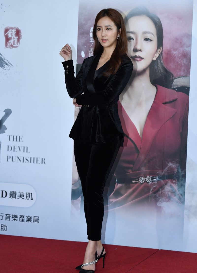 ▲周曉涵在劇中飾演秦廣王。(圖