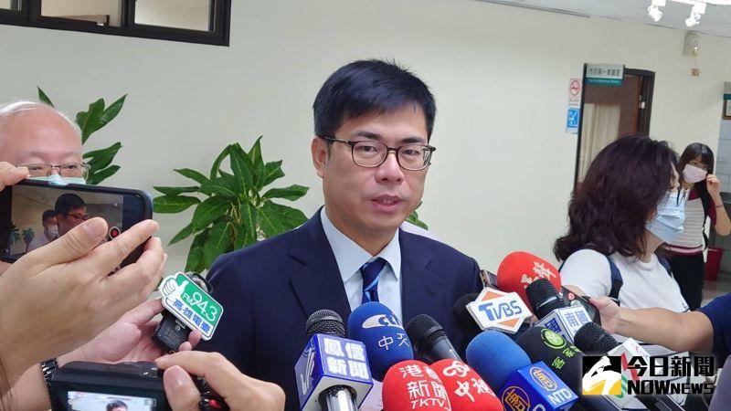 ▲高雄市長陳其邁表示,相愛的人有在一起的權力,是他一貫的主張。(圖/記者鄭婷襄攝)