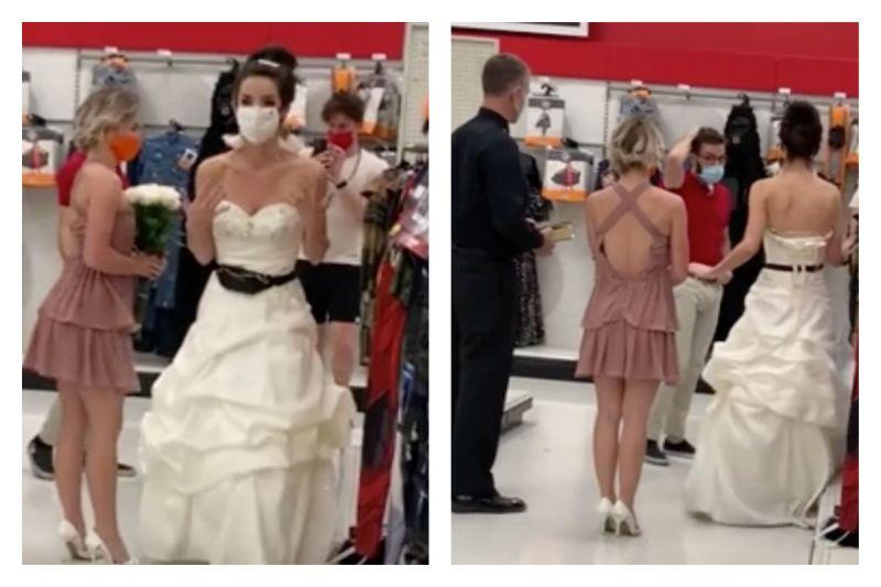 女帶牧師在超市要男友「立刻原地結婚」 網愣:最強逼婚