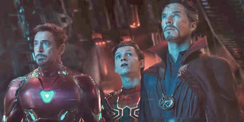 ▲奇異博士(右)將取代鋼鐵人(左),成為蜘蛛人的新導師。(圖/《復仇者聯盟》劇照)